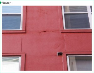 Known as saponification, this type of coating failure was caused by premature application.