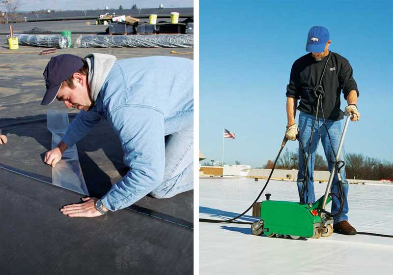 Restoring Aged Epdm Roof Assemblies Page 2 Of 3
