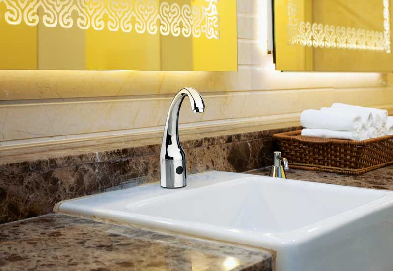Coming clean with sensor and manual faucets - Construction Specifier