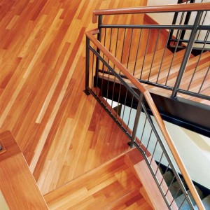The preference for newly installed hardwood floors is trending back to brighter, more natural colors.