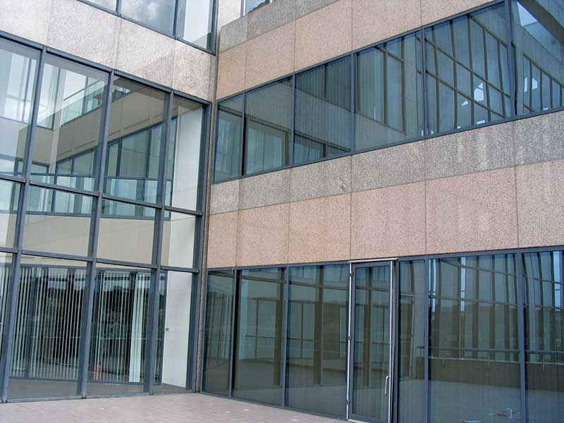 Curtain Wall Leaks : Understanding why doors leak page of construction