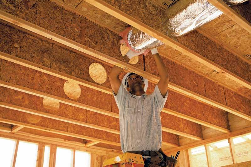 Wood Floor Assemblies Easing The Burden Using Technology