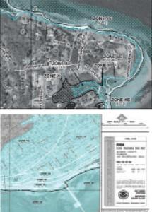Special Flood Hazard Areas (SFHA) are broken into V- and A-zones.