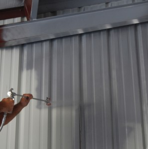A large metal warehouse in Texas will reap the benefits of IRCC application.