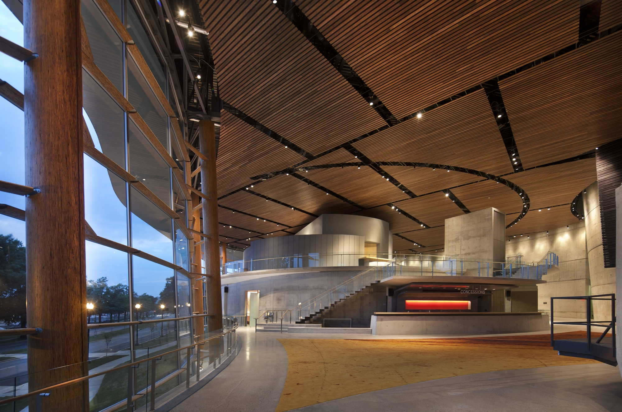 A Sound Decision: Wood brings acoustic value to structures