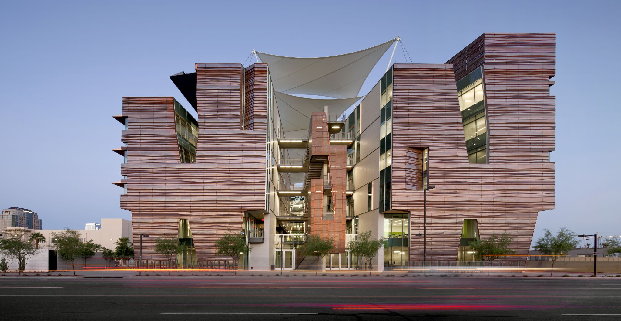 Sustainability in the desert medical education facility for Building a house in arizona
