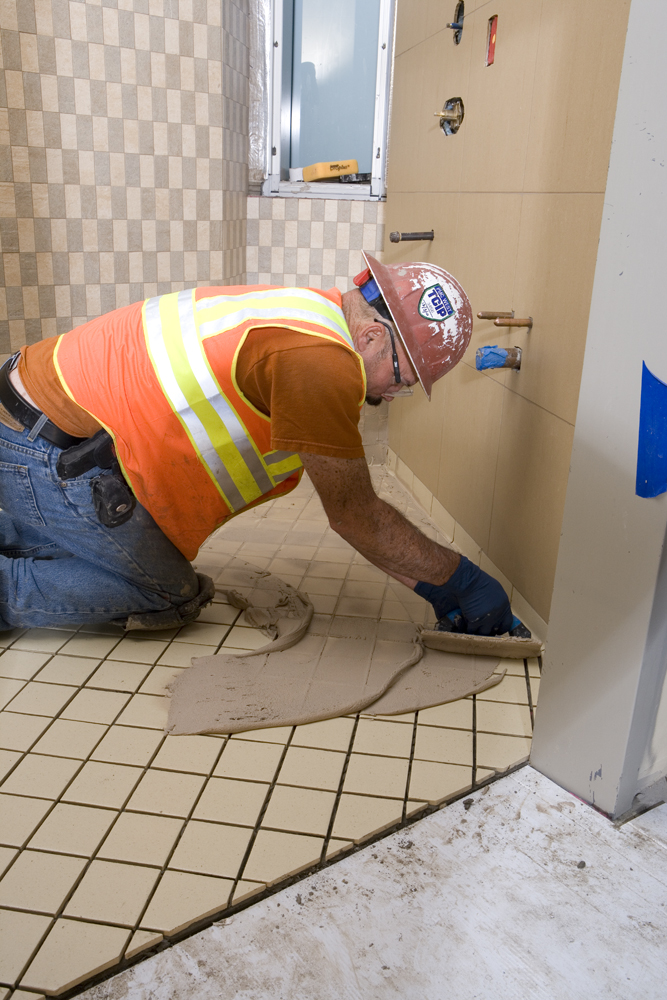 Many grout choices depend on location, among other things, to achieve a durable installation.