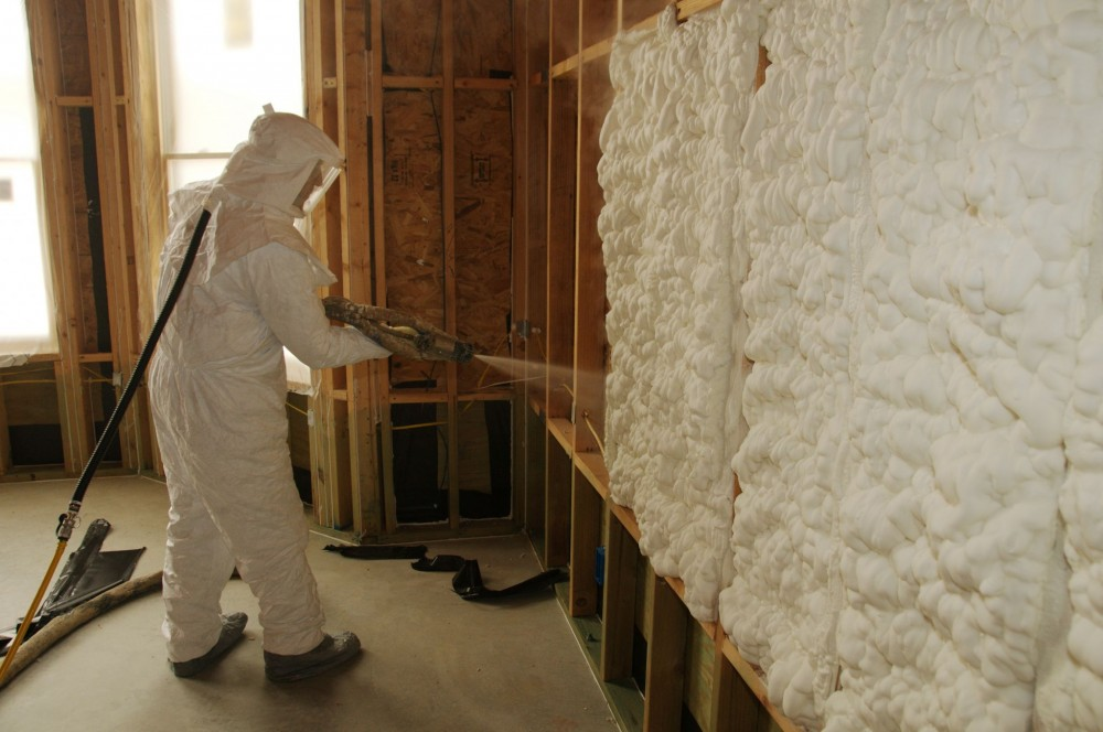 Spray polyurethane foam (SPF) is a spray-applied material widely used to insulate buildings.