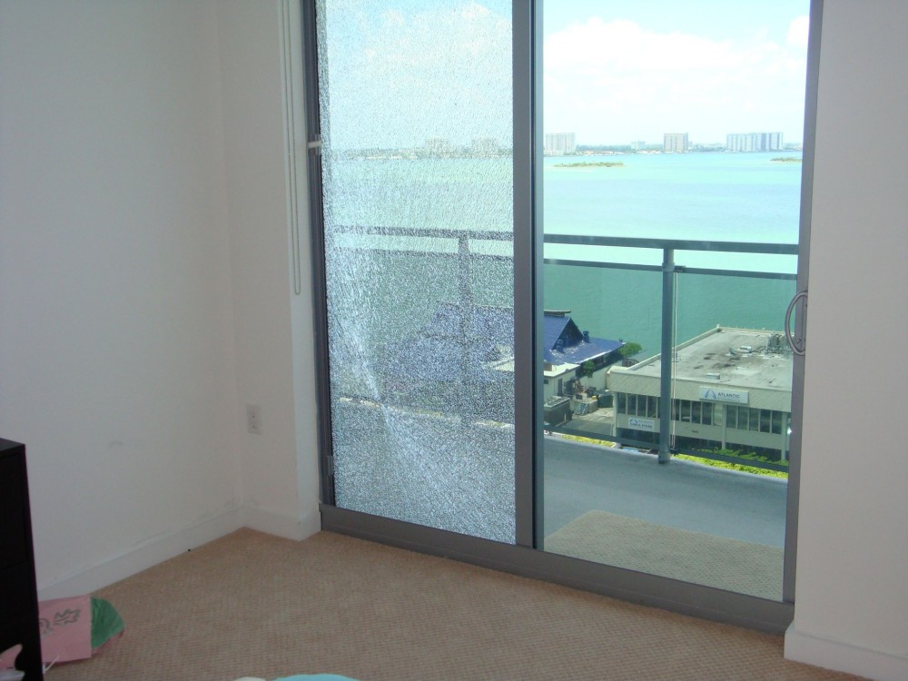 Safety glazings are commonly required for sliding glass doors, shower doors, and patio furniture. 'Safety glazing' generally refers to any type of glass that is engineered to reduce the potential for serious injury.