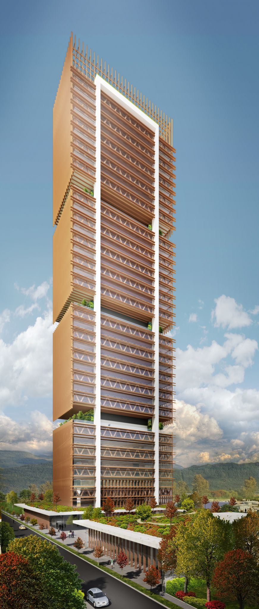 Building Tall With Wood In The Future Construction Specifier