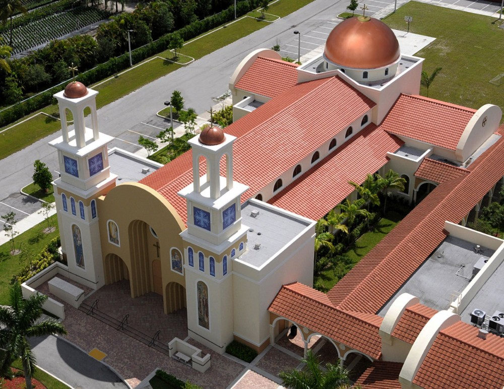 For the Saint Mary Coptic Orthodox Church (Delray Beach, Florida), api Group Architecture took a design that initially called for reinforced masonry with metal gauge framing, lath, and stucco, and converted it to tilt-up. Houlihan Construction was also part of the project team.