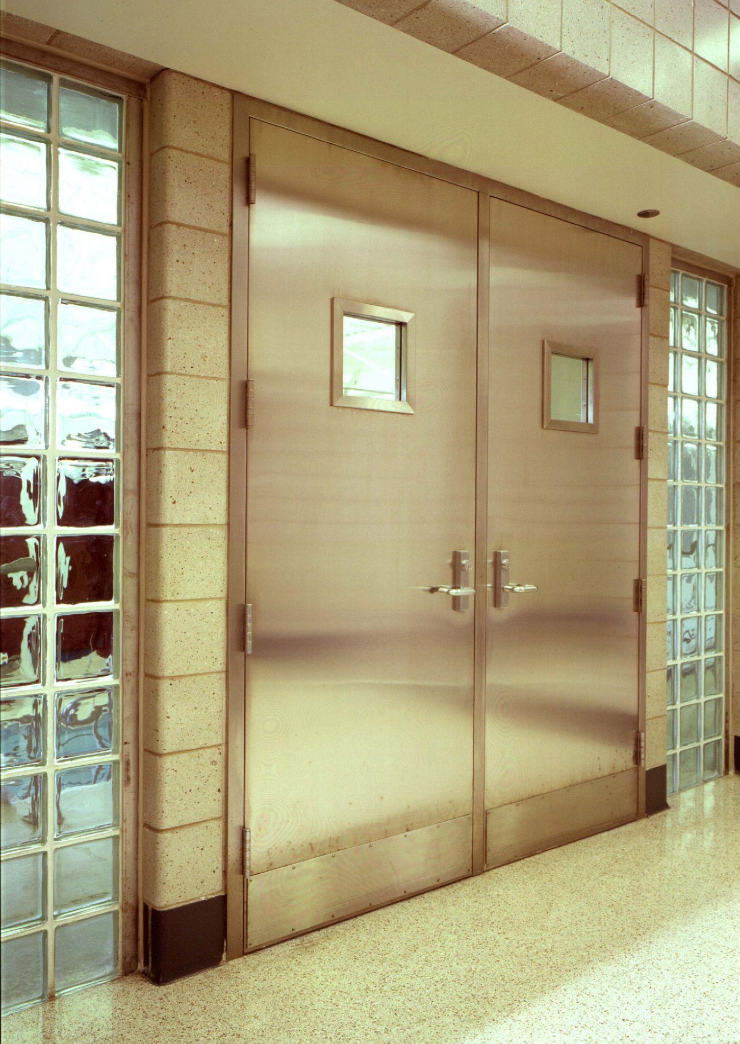 Metal Door Construction : Steeling for success more to metal doors than just the