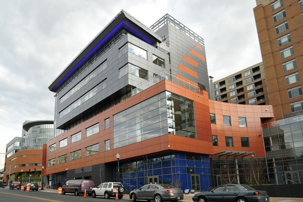 In Silver Spring, Maryland, Schick Goldstein Architects' United Therapeutics Corporate Headquarters maintains its color through specification of the proper PVDF paint.