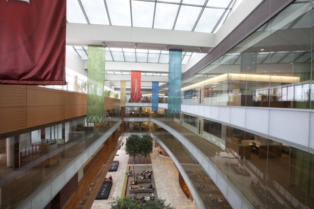 "The Wisconsin Institutes for Discovery at the University of Wisconsin-Madison received the Innovative Green Building Award and the ""Laboratory of the Year"" in 2012. The building also achieved LEED Gold certification in 2011. High-performance spacers were used in its IGUs to help improve overall window efficiency."