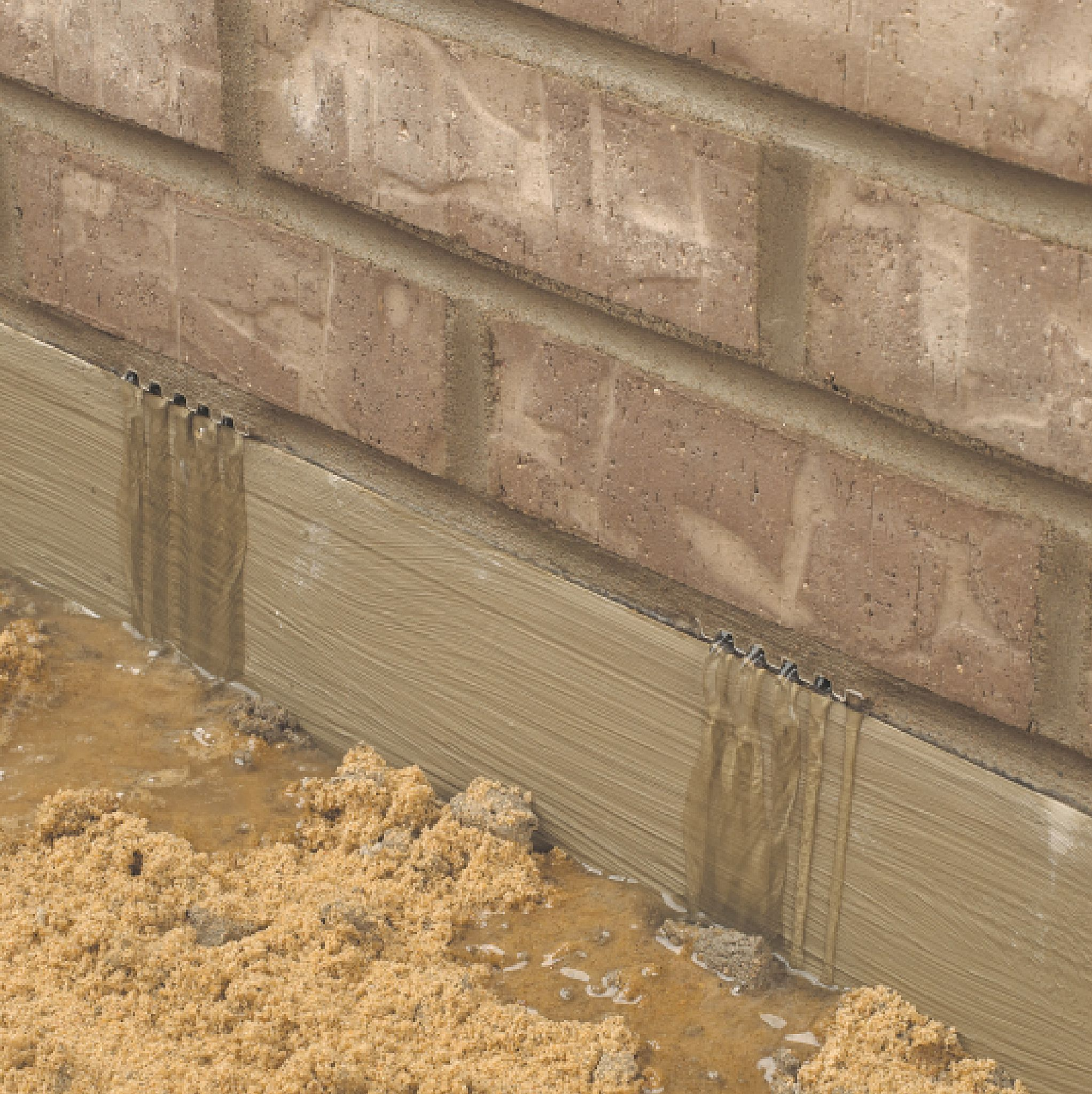 Weep Now Or Weep Later Moisture Management And Risk Zones For - Brick weeps