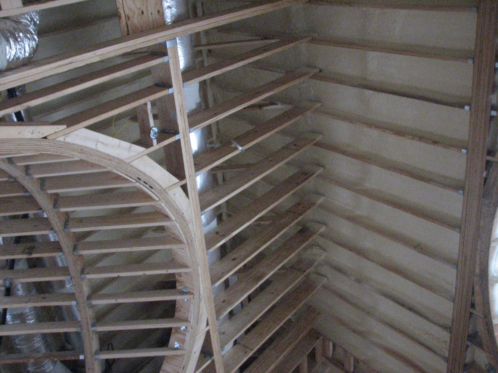 Attics with small and unusual configurations might also benefit using unvented assemblies. [CREDIT] Photo courtesy Mason Knowles Consulting LLC