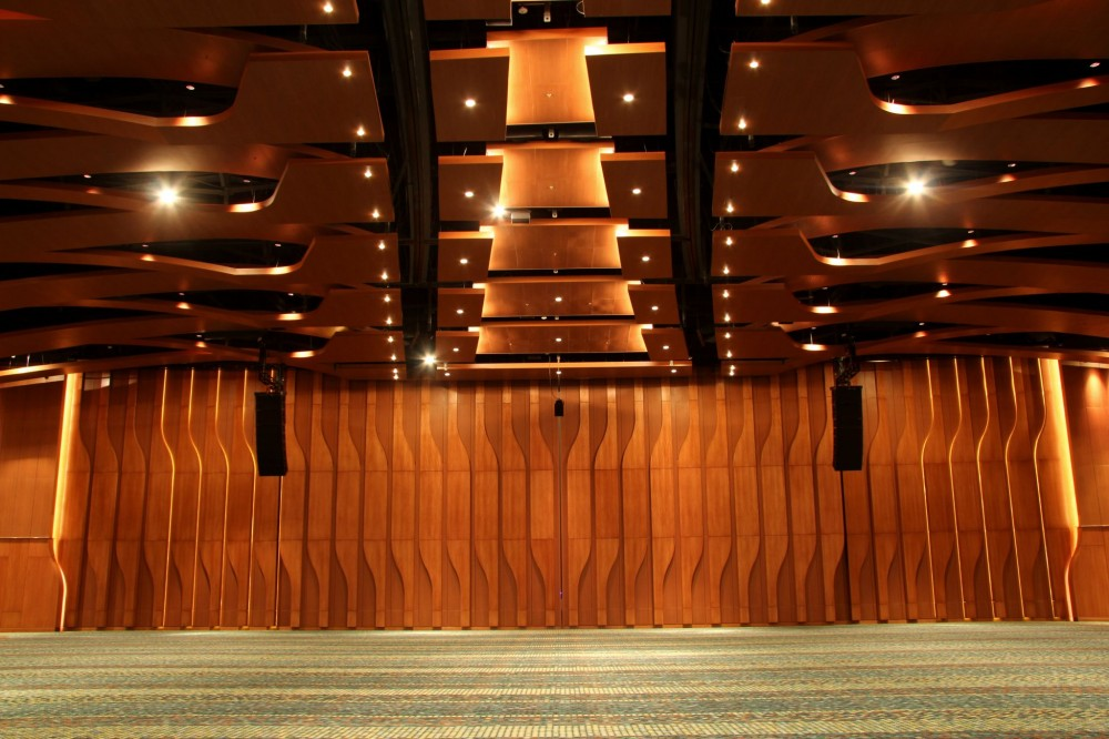 Interior images of Music City Center's Grand Ballroom. Photos © Russell Moore, Russell Moore Portraiture
