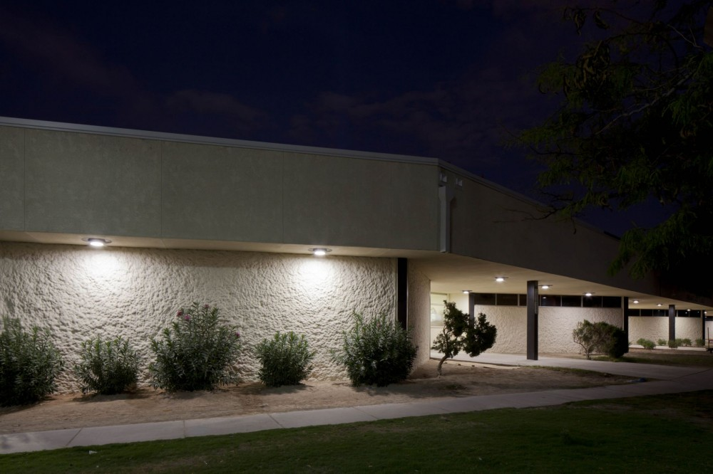 The light-emitting diode (LED) lights are an alternative to traditional high-intensity discharge (HID) fixtures and are helping Ed W. Clark County High School to reduce its energy consumption by 75 percent.