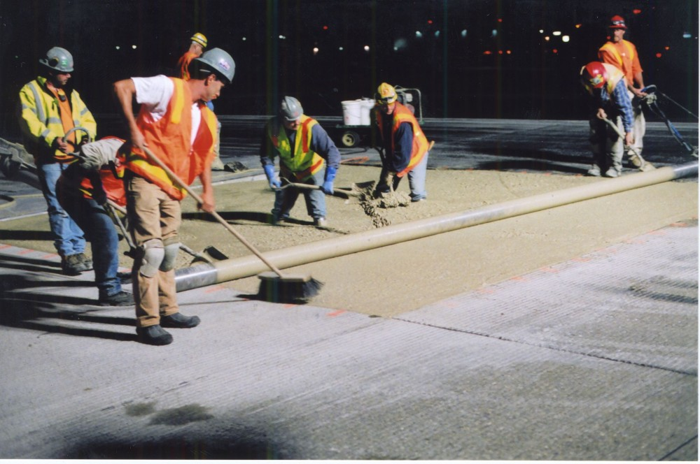 The Seattle-Tacoma (Sea-Tac) runway mix design is a seven-sack CSA concrete tested at the University of Oklahoma to have a lifecycle of more than 80 years.