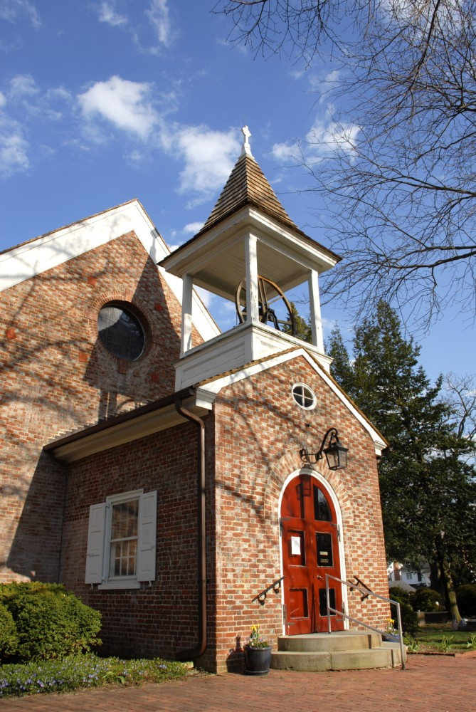 This church was built with masonry cavity walls and brick veneer. An important factor for determining such a wall's energy effi ciency is the envelope's design, specifi cations, and the materials making up the assembly.