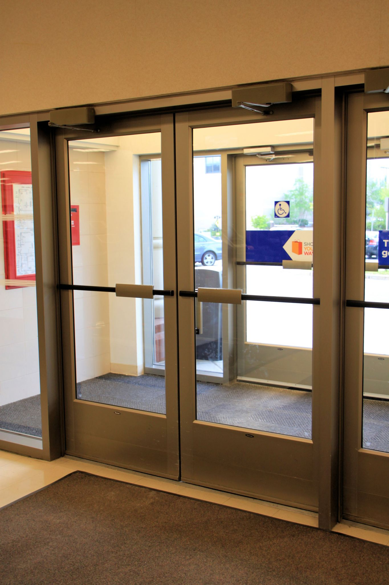 Manual doors on an accessible route must have a smooth surface on the push side with & Understanding new accessibility requirements for doors ...