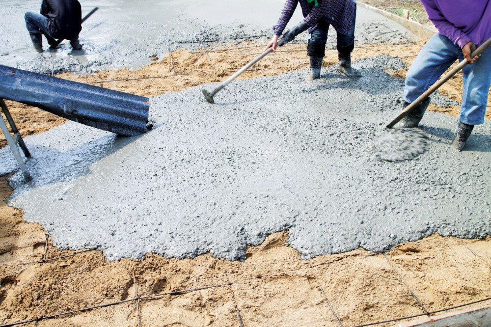Mix design fundamentals considerations for concrete for for Pour a floor