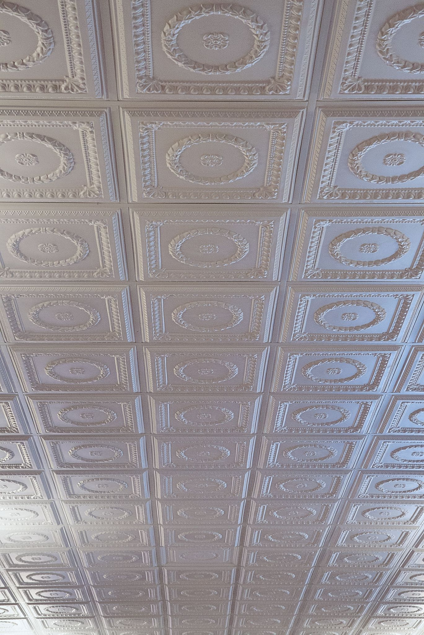 Thermoformed ceiling panels and tiles construction specifier one glance at a thermoformed ceiling speaks immediately to the decorative potential of the molded panels dailygadgetfo Choice Image