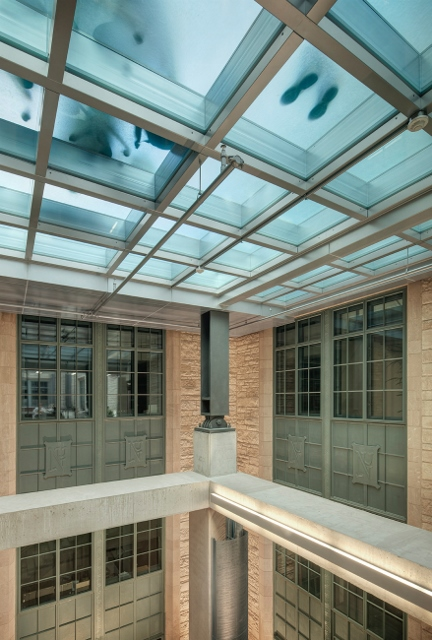 Fire Rated Glass Floor Captures The Light At Northwestern