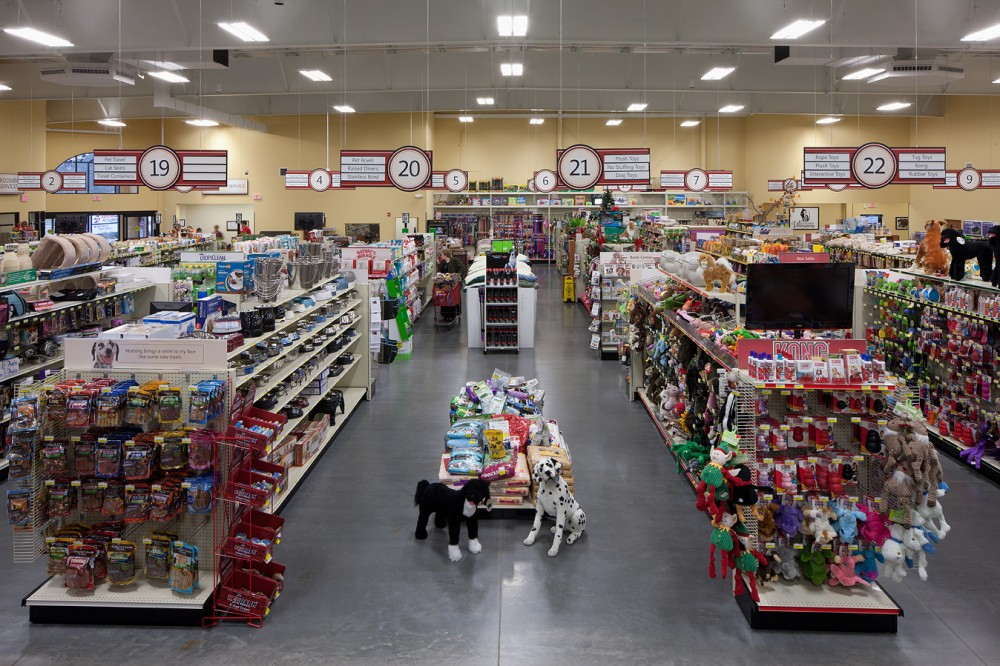This pet supply store installed over 200 indoor and outdoor luminaires, poles, and controls in its Virginia Beach location to achieve maximum energy savings.