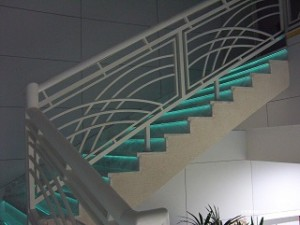 EL applications for stairs can help ensure safe egress in an emergency.