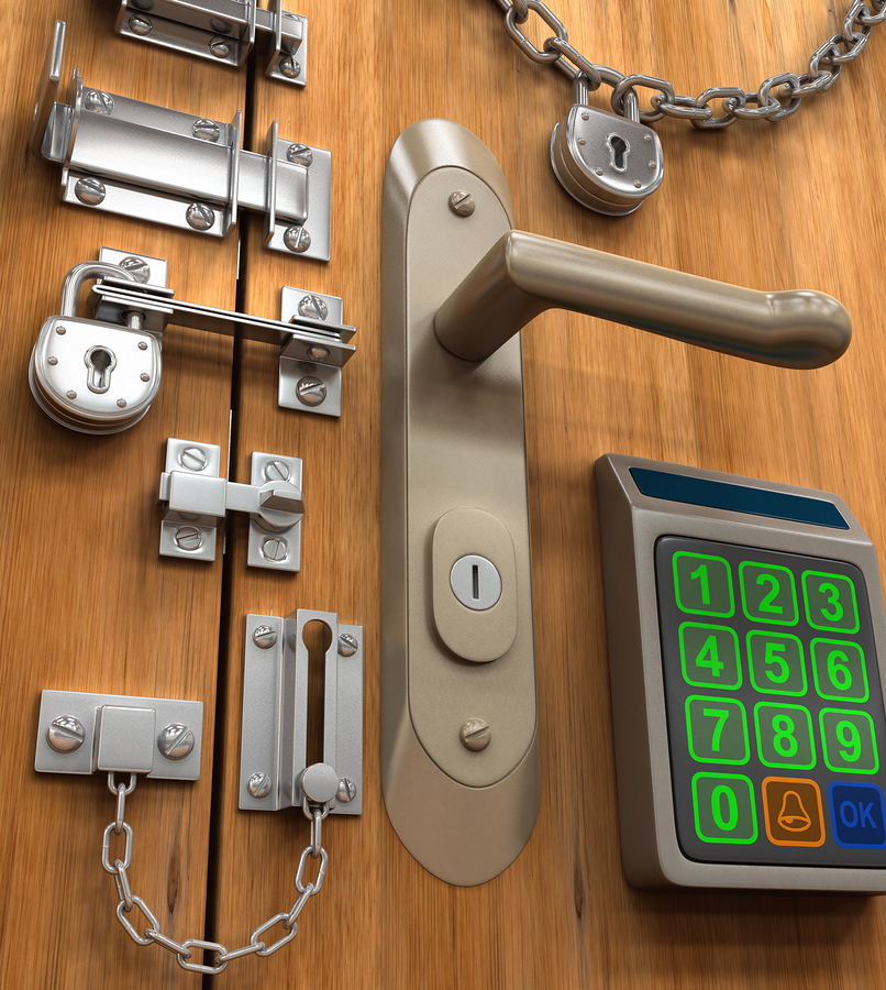 Ремонт электронных замков на дверь