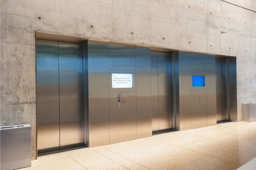 Indoor air quality (IAQ) is an important consideration for building owners and design teams. IAQ can easily decrease within elevator cabs and machine rooms. Photos courtesy ThyssenKrupp Elevator
