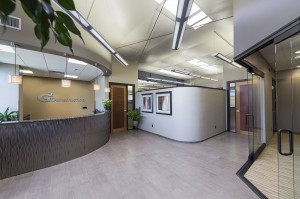 G2 plans to monitor for energy savings made possible with the daylighting system, which is installed in its suite.