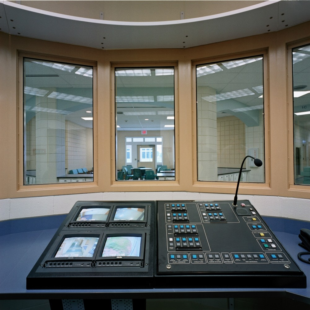 This photo shows the inside of a control station. Photo courtesy HTK Architects and KMD Consulting Architects