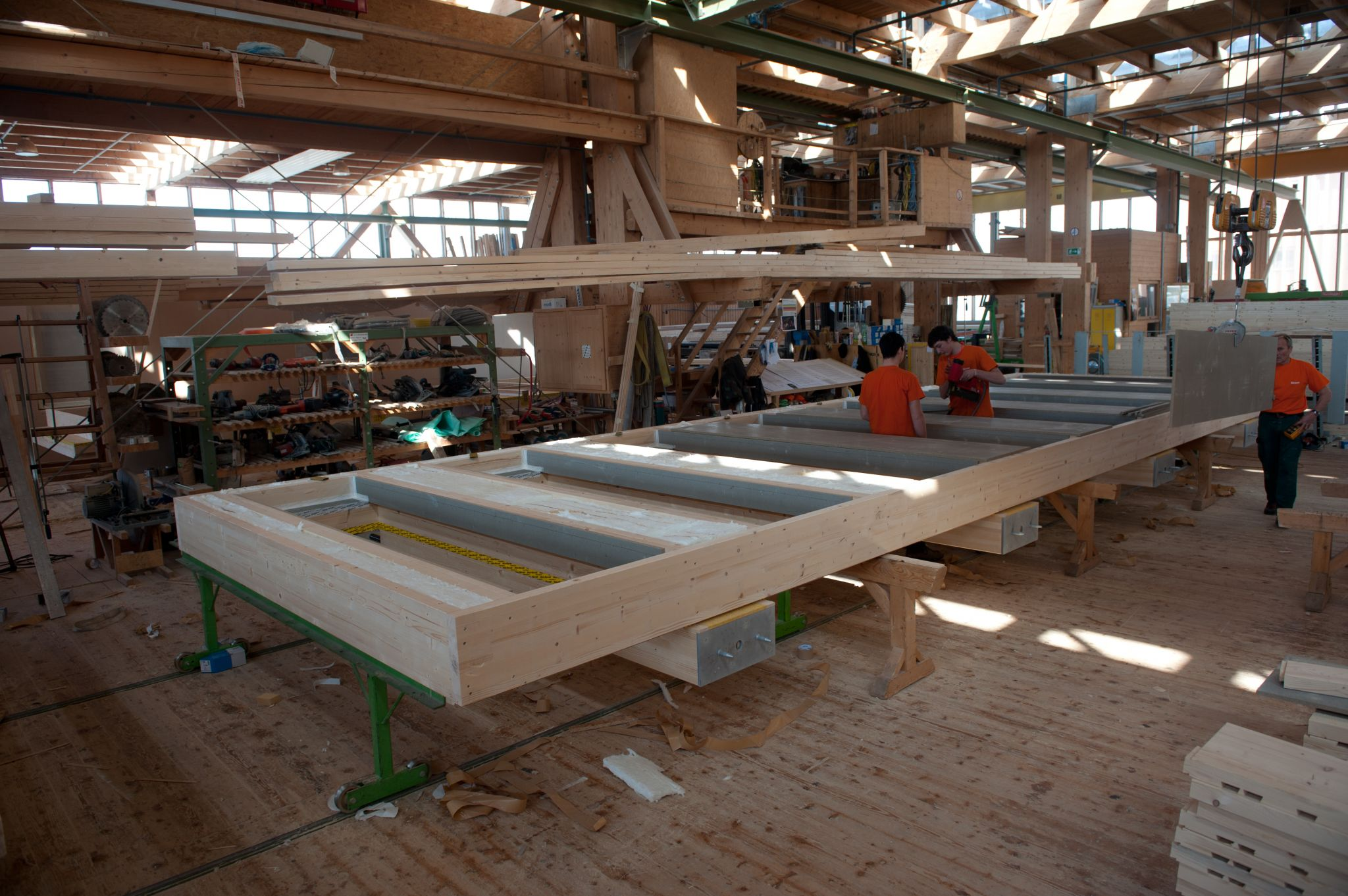 Energy Efficiency And Building With Wood Construction