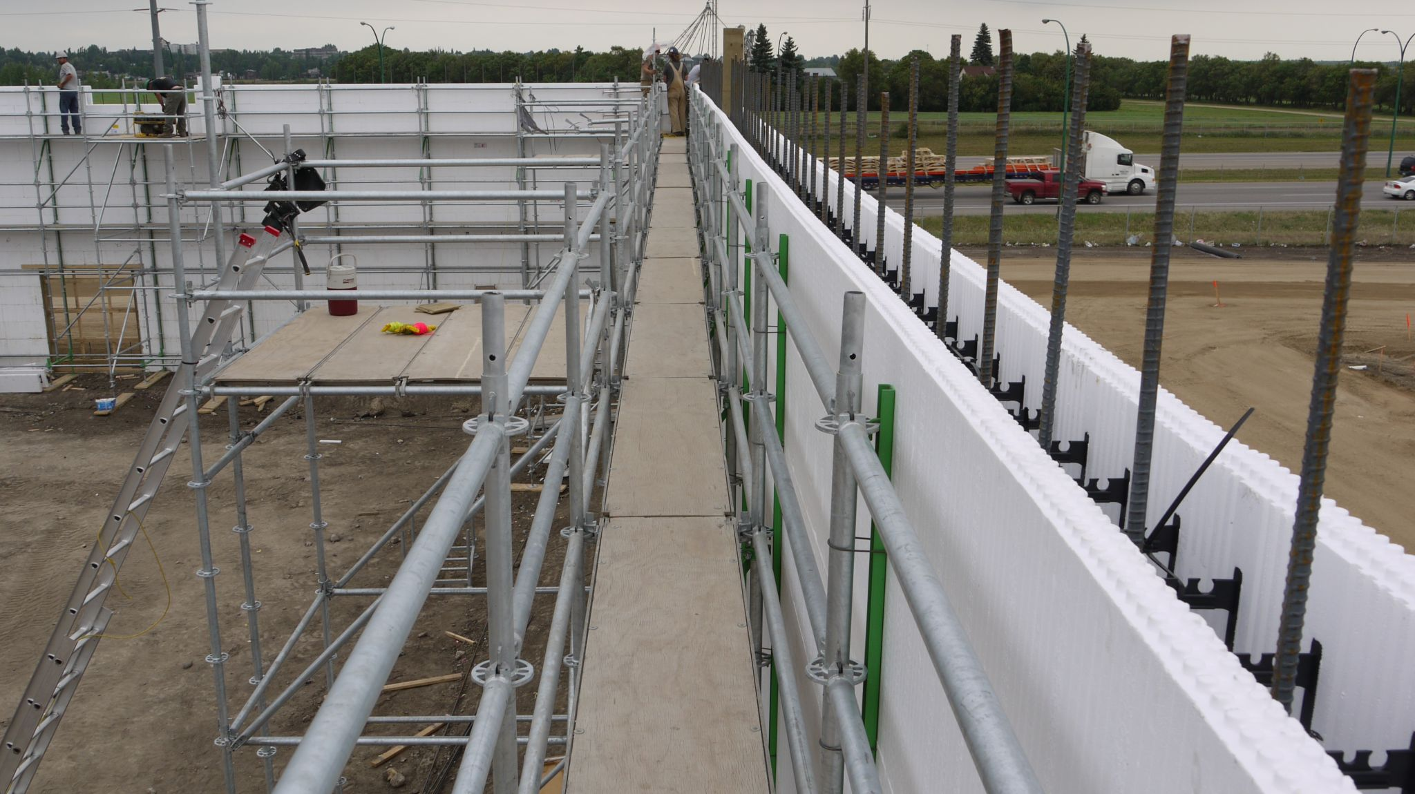 Innovation with insulating concrete forms construction for Icf concrete