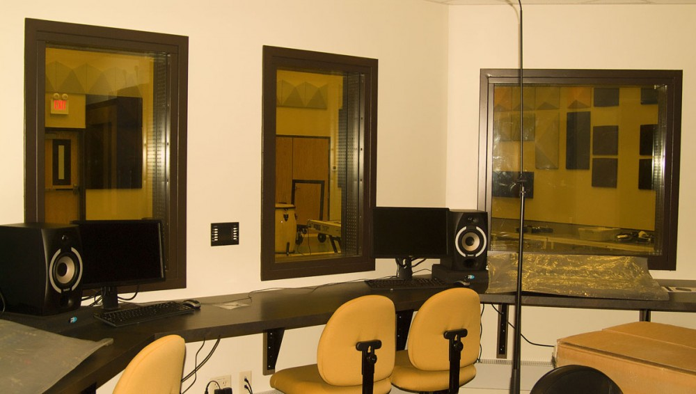 West Point University Recording Studio STC Windows