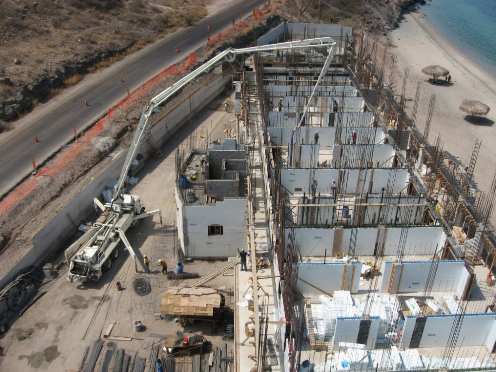 Crews often quickly adapt to ICF technology, increasing their production rates as the project progresses.