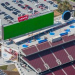 Levi's Stadium in Santa Clara, California will host a wide range of events from football and soccer to motocross and concerts. The stadium is designed to be light, airy, and open. Photos courtesy Clark Pacific