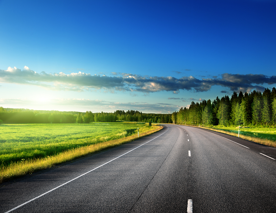 Asphalt pavements are becoming more environmentally responsible, with an increased focus on warm-mix technologies and recycled material inclusion. Photo © BigStockPhoto/Iakov Kalinin