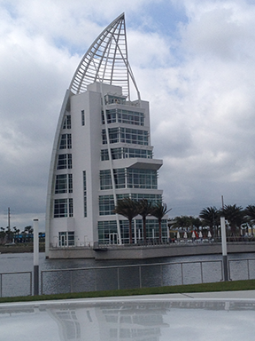 FIGURE 1 Port Canaveral Exploration's Tower ALT