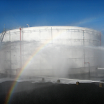 Fire Suppression System Supply Test for Flamable Liquid Storage Tank