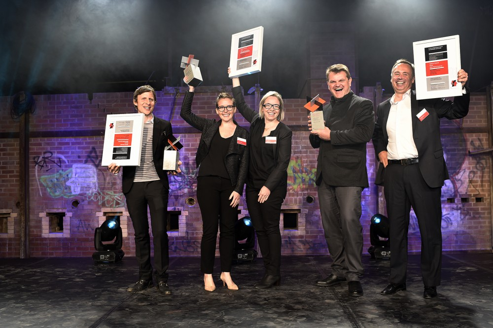 Winners for this year's North American regional Holcim Awards—including the designers of mould-based bricks, large-scale permeable concrete skins for Vegas, and flood barriers for Lower Manhattan—now move on to the global competition. Photo courtesy Holcim