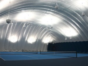 """Indoor Facility of the Year"" went to Bishop's Tennis Inc. (Sterling, Virginia) for its work on the new Montgomery TennisPlex (Boyds, Maryland)."