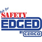 Ask for Safety Edged by Cemco logo