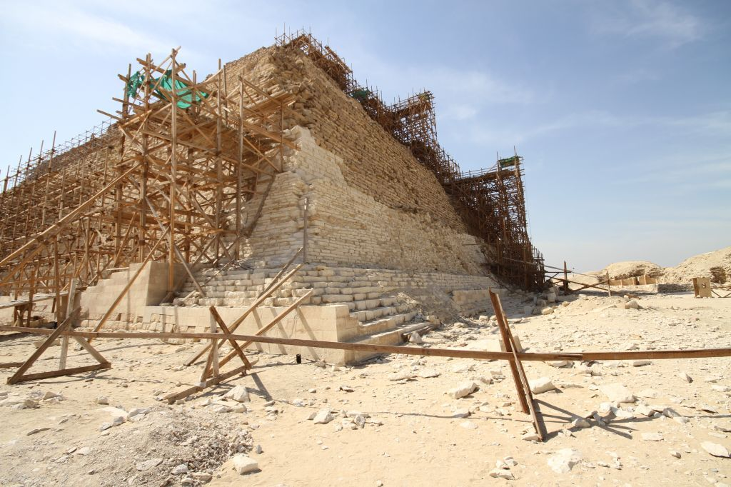 Engineer shares new theory on the construction of egyptian for Builders first