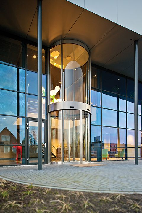 The Ins And Outs Of Revolving Doors Construction Specifier