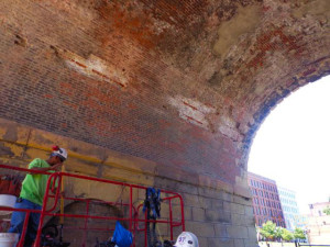 Repairs starting on sides (3)