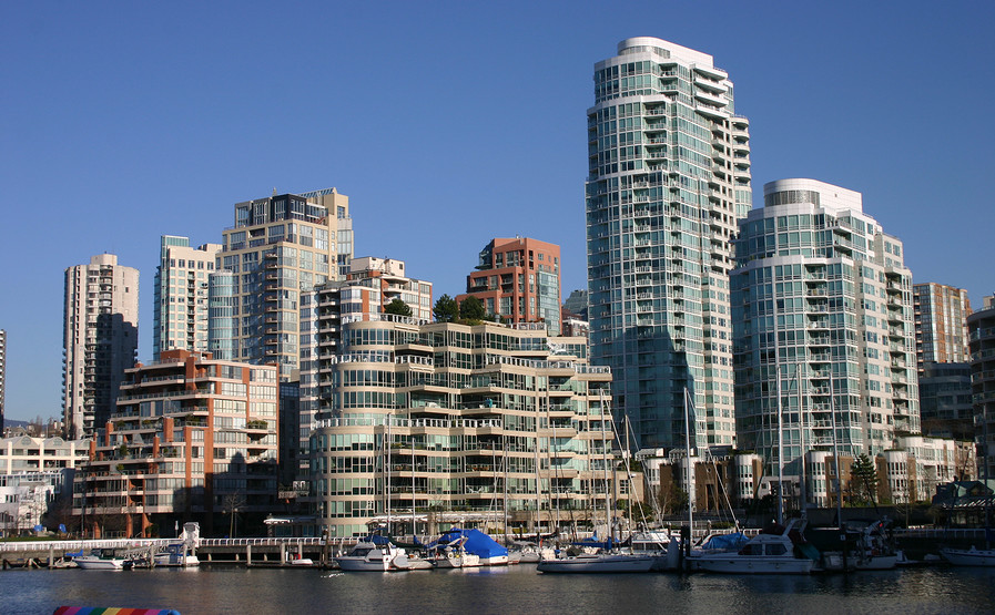vancouver's trendy false creek