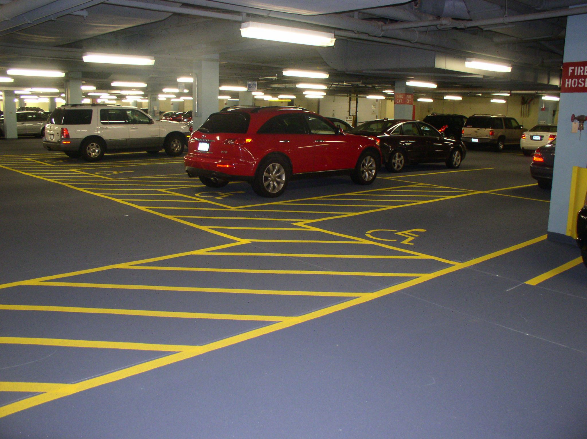 don t seal your fate considerations for parking garage surface all photos hoffmann architects inc
